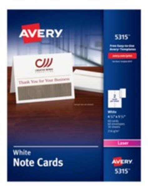 avery 5315 note cards template avery printable white matte note cards