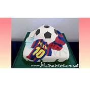 Torta Decorada Juguemos Al Futbol  Lut Creaciones Tortas