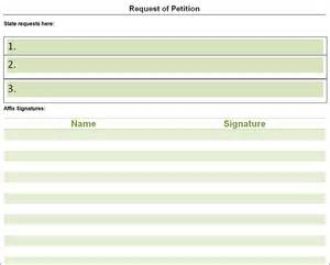 petition template to print petition template free pdf word documents