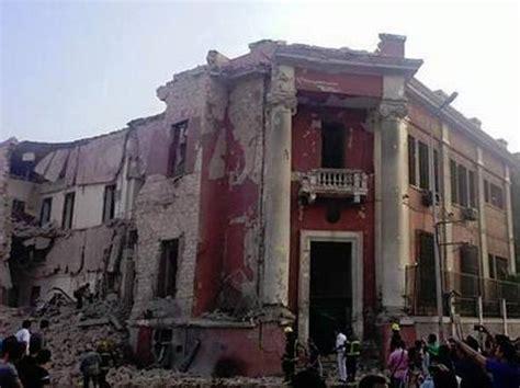 lavorare al consolato italiano forte esplosione al cairo di fronte al consolato italiano