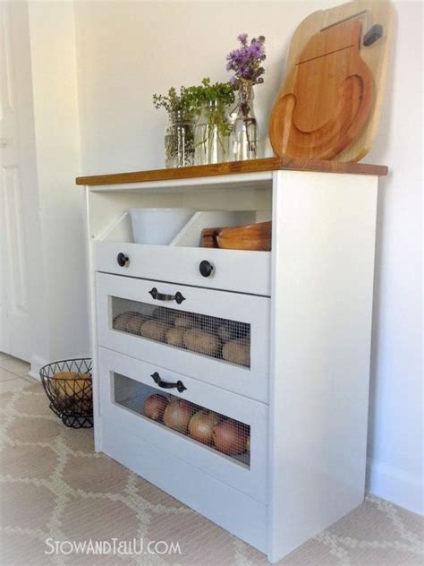 how to make a potato vegetable storage chest with