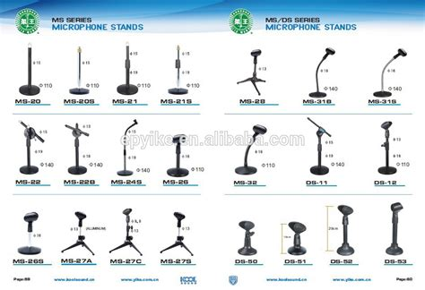 Sound Desk Ms 31b Professional Gooseneck Microphone Stand Table