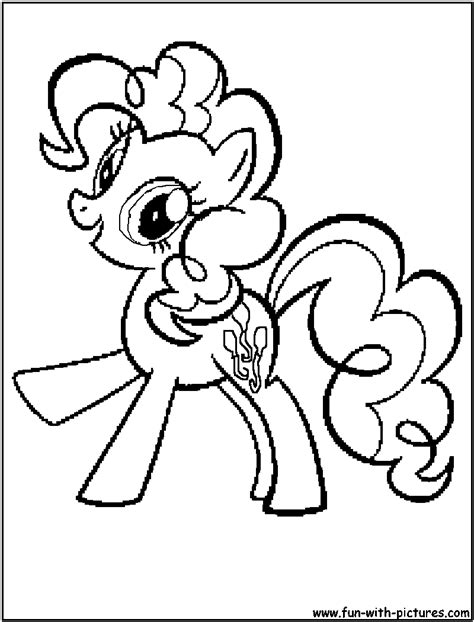 mylittlepony pinkiepie coloring page