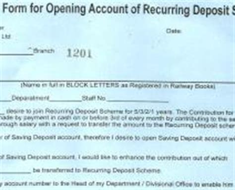 Recurring Deposit Cancellation Letter Format The Creccs Ltd Downloads