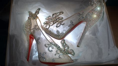 the glass slipper christian louboutin unveils gorgeous cinderella inspired