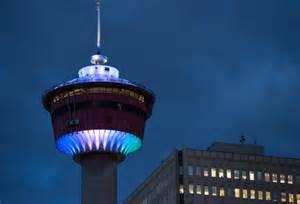 Lighting Calgary Calgary Tower 187 Aspen Properties