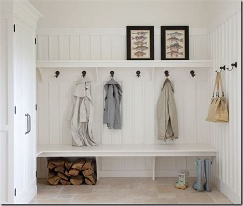 Laundry Room Entryway by Panel Your Mud Room Walls For Some Style Mud Room
