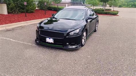 custom nissan maxima black and green custom nissan maxima