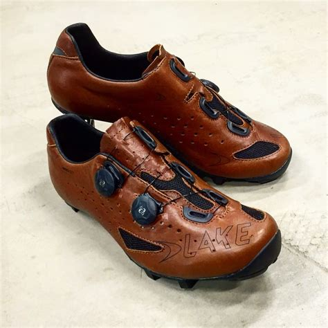 leather bike shoes lake mx237 all leather mountain bike racing mtb shoe