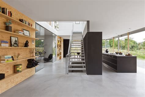 interior design architects minimalistische villa in duinen van paul de ruiter
