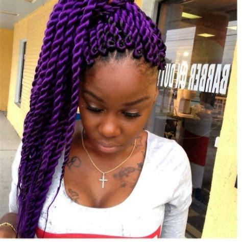 sealeasge twist braids jumbo jumbo purple twists hair spiration pinterest