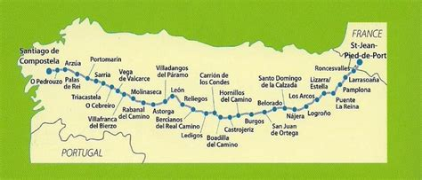 from st jean pied de port to santiago de compostela by about goes to santiago