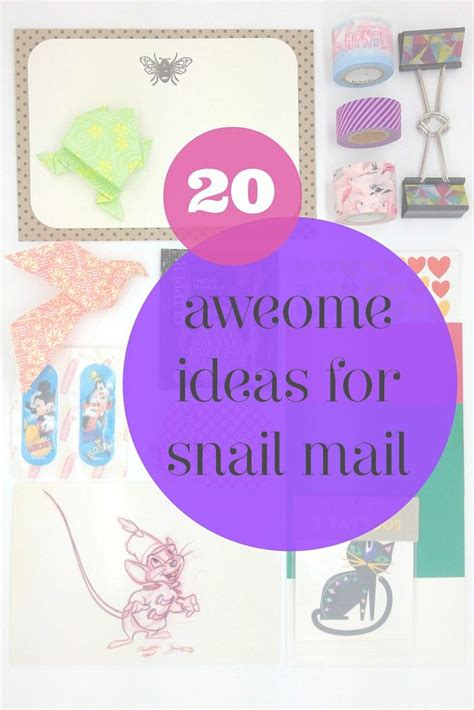 gifts by mail 25 best creative mail ideas on pen pal