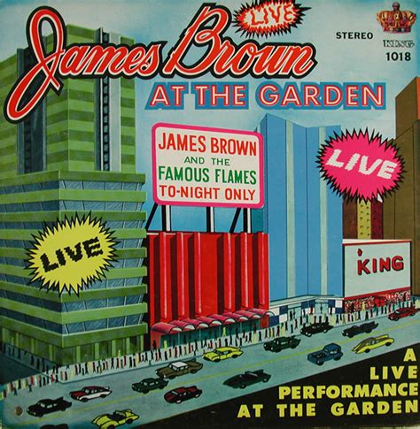 Live At The Garden by Brown Live At The Garden Vinyl Records Lp Cd On