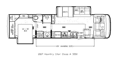 newmar rv floor plans 2007 newmar kountry star ksca 3550 floorplan