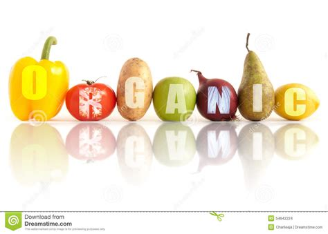 l word vegetables organic fruits and vegetables stock photo image 54642224