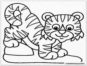 what color is a tiger tiger coloring page only coloring pages