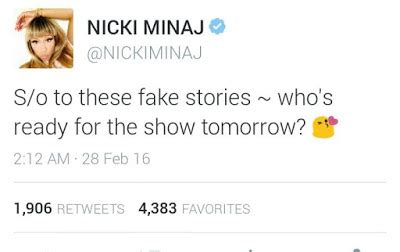 Tmz Is Reporting That Nicoles Home Will Go To Highest Bidder by Nicki Minaj Reacts To Tmz S Report On The Alleged Fight