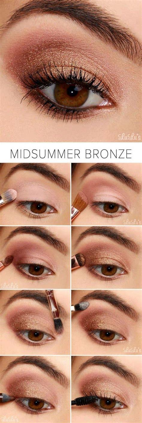 tutorial de kiss me maquillaje en ojos color rosa