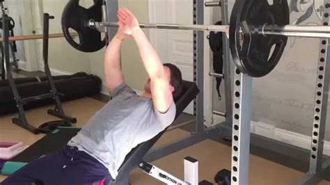 proper incline bench press form incline bench press form for a steel chest youtube