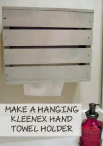 kleenex towels holder kleenex towel holder diy miss information
