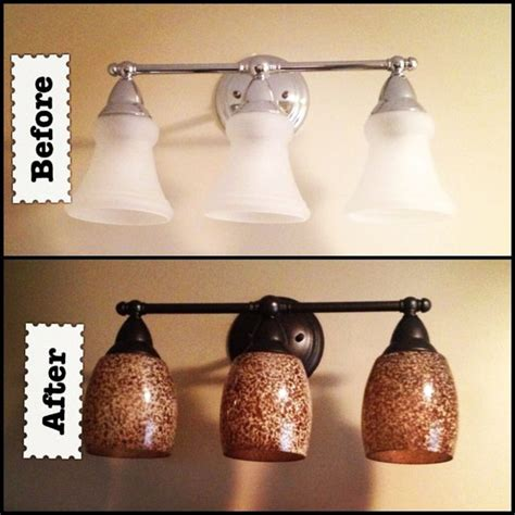 chagne bronze bathroom light fixtures 17 best ideas about light fixture makeover on