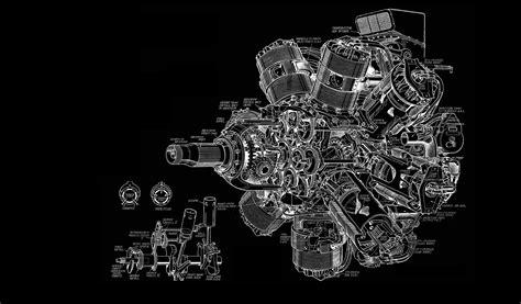 wallpaper engine needs to enable aero engine diagram bw black aircraft airplane wallpaper