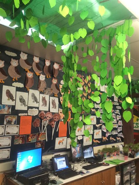 themes in house boy forest classroom fantastic mr fox s forest topic book