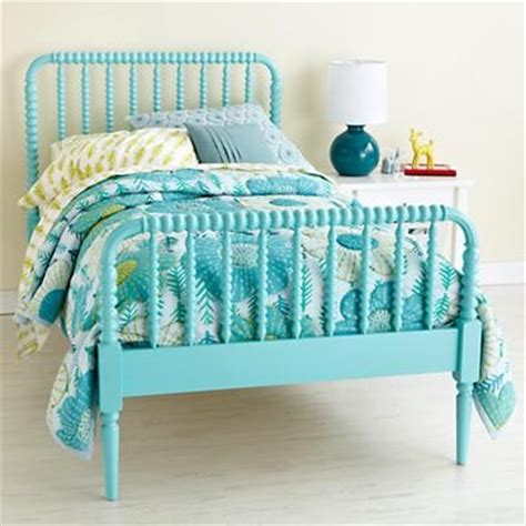 Aqua Bed by Aqua Blue Spindle Lind Bed Beds