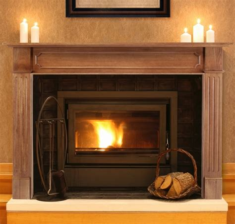 pearl mantels 111 alamo unfinished fireplace mantel surround