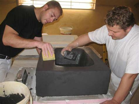 beton gegenstände selber machen waschtisch selber bauen beton grafffit