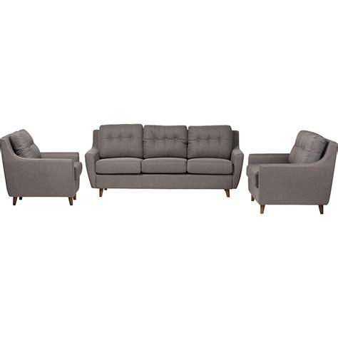 calvin button 3 piece living room set free shipping today overstock com 17079828 mckenzie 3 piece sofa set button tufted gray dcg stores