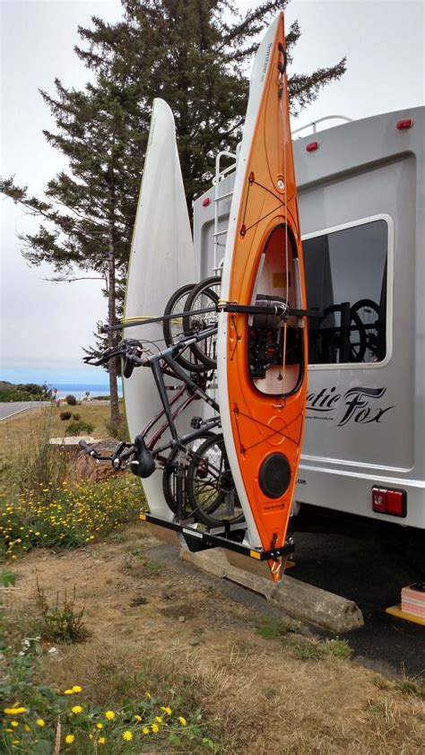 rv kayak racks on quot most all types of rv