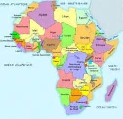 ethnies africaines sur des cartes africaines par pays