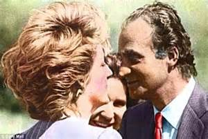 princess diana lovers king juan carlos of spain rumoured to have made a pass at