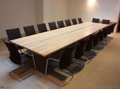 table de en bois r 233 alisation table de r 233 union bois n 176 4 epoxia mobilier