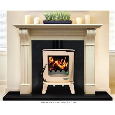 Fireplace Deals by Fireplace Deal Dublin Surround Marfil Granite Insert