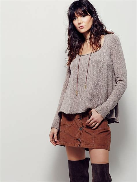 swing out sisters online free people swing out sister sweater in gray lyst
