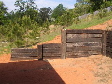 Simple Retaining Wall Ideas For Slope Best House Design Wood Garden Wall