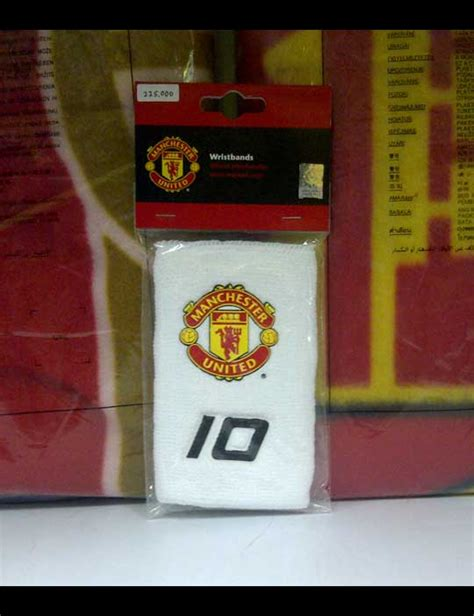 Aksesoris Basket Wristband Wristband Basket Wristband Murah 1 toko olahraga hawaii sports official merchandise manchester united number 10 wristband white