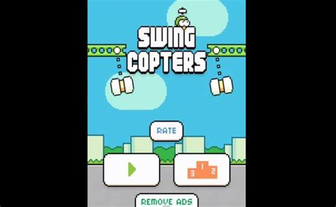 Swing Copters A Flappy Bird Sequel