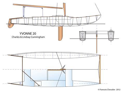 catamaran lines drawing menhalom