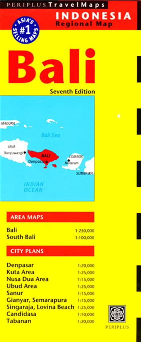 Periplus One bali map periplus maps books travel guides buy
