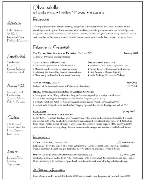 Resume Career Objective Psychology sle resume for psychology graduate http www resumecareer info sle resume for