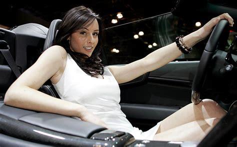 hot chick lamborghini scientific proof that exotic cars turn women on