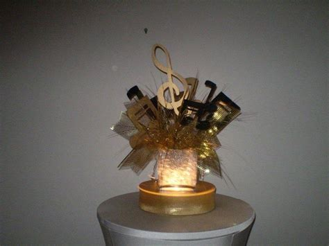 lighted gold musical centerpiece possible centerpieces