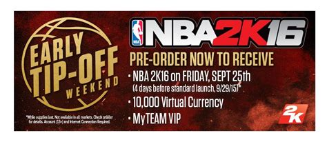 pre meaning preordering nba 2k16 lets you play four days early gamespot