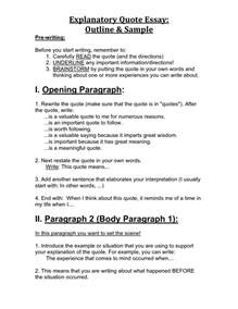 Exle Of A Quote In An Essay by Exles Of An Essay In Quotes Quotesgram