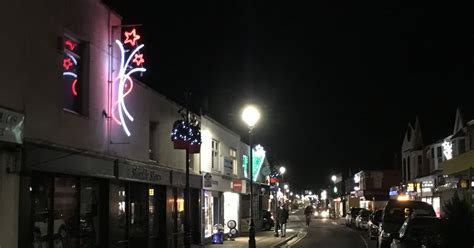 burnham on sea resident says town centre s flashing