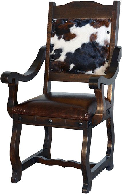 Cowhide Dining Chairs by Cowhide Dining Arm Chair Cowhide Arm Chair Dining